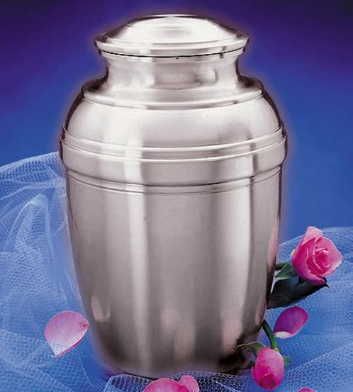 Urn Franklin Spun Pewter